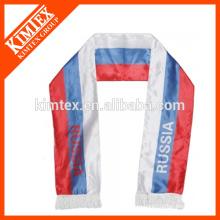 2015 Летний оптовой пользовательской печати популярных полиэфирных шарф