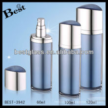 bouteille cosmétique acrylique de forme d'oeil, bouteille cosmétique acrylique de forme d'oeil bleu, bouteille cosmétique acrylique de forme d'oeil de pompe