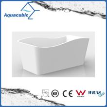 Bathroom White Free-Standing Acrylic Bathtub (AB1552W-1500)