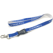 Promotion Gift Woven Polyester Custom Lanyards