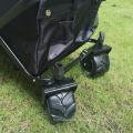 4 Wheels Portable Garden Trolley Folding Wagon Cart