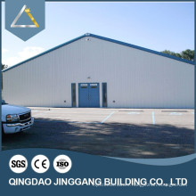 Well Insulated Steel Frame Workshop in Cold Weather