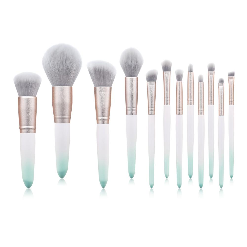 12 Stück japanische beste Make-up Pinsel Set Private Label