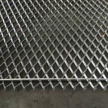 Maille aplatie de métal déployé en acier galvanisé