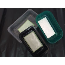 Made in China Food Grade PP&Pet Black Plastic Packaging Box for Meat