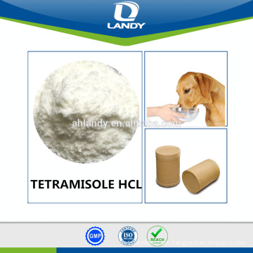 GMP CERTIFIED FACTORY DL-TETRAMISOLE HCL BPV98 TETRAMISOLE HYDROCHLORIDE