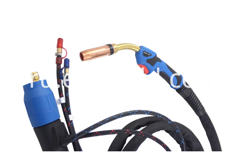 Mig 400 401d Welding Torch Water Cooled