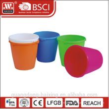 HaiXing colorful trash can 4.5L