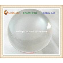 Boule en verre avec fond