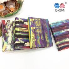 Mini-caderno da capa de goma da série de pintura a óleo vintage (XLP64176-X04)