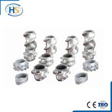 Tornillo bimetálico de extrusión de tornillo gemelo para piezas de repuesto