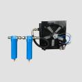 Compressor de ar de alumínio refrigerado por ar Aftercooler