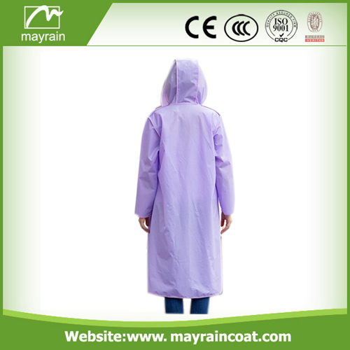 Mayrain Long PVC Outdoor Jacket