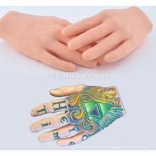 Trainer Praxis Hand, Hign Qualität Tattoo Trainer Praxis Hand