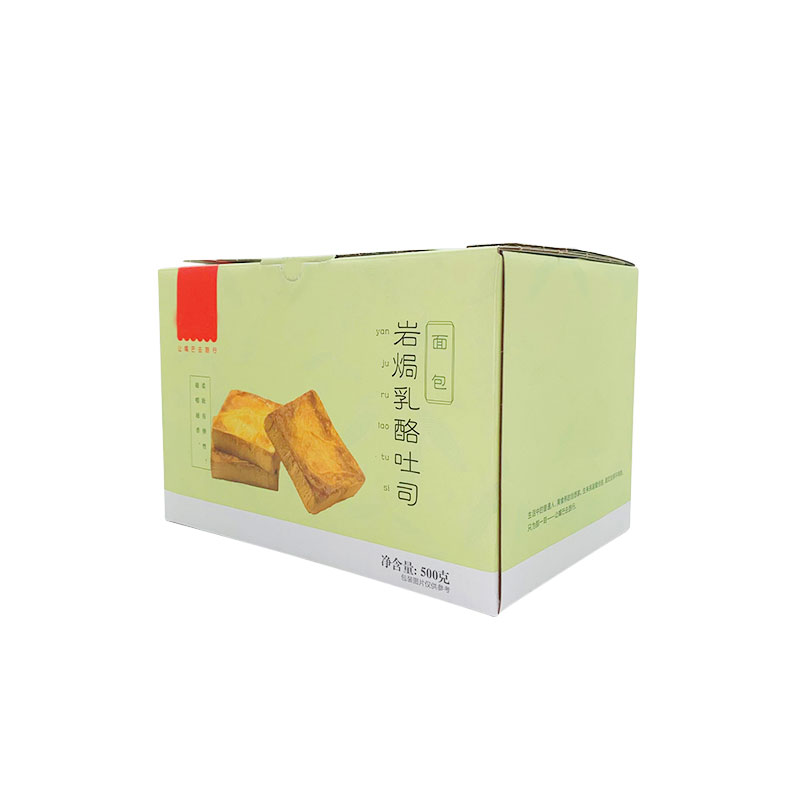 Bread corrugated box packaging