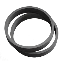 carbon graphite ring high purity carbon graphite ring factory Outlet carbon graphite seal ring Custom processing