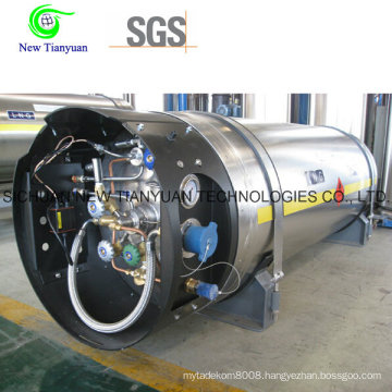 Heat Insulated Cryogenic Stainless Steel LNG Cylinder