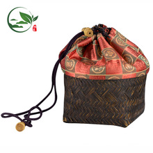 OEM Convenient Store Bamboo Travel Bag Matcha Tea Kit Set Travel Handbag