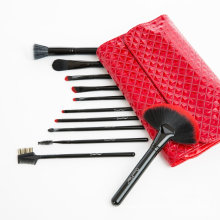 24PCS Synthetic Hair Cosmetic Brush Set for Christmas Gift