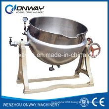 Kqg Industrial Jacket Kettle Steam Jacket Brew Kettle