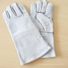 Handschweiß-Sicherheitshandschuh mit Leder Ab / Bc Grade