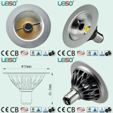 COB Reflector Design 7W Retrofit Ar70 Bulb for Indoor Lighting