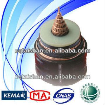 Niederspannungs-PVC-isolierte und ummantelte 0.6 / 1KV Stromkabel für den Bau