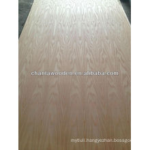 Amercian red oak veneer plywood