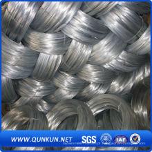 Material de Construção Ferro Galvanizado Wire / Bwg20-22 Galvanizado Binding Wire for Construction