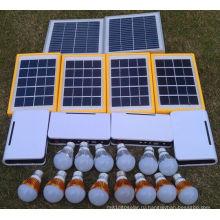 Солнечное электричество для сельских светодиодные лампы в освещение долгого времени