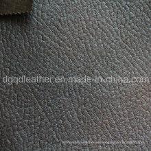 Cuero de la PU respirable de alta calidad para el sofá (QDL-FB061)