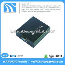 Цифровой DVI-I для аналогового ПК VGA Video Converter Box 1920x1080