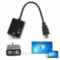 HDMI-мужчина на VGA-матрицу с аудио-адаптером HD-видео конвертера 1080P для ПК