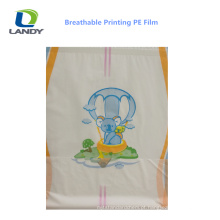 China Good Quality PE Film for Diapers PE Film for Underpad