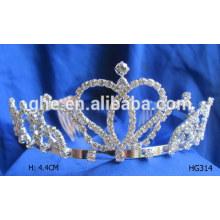 Tiaras de aniversário para adultos tiara preta rosa concurso de tiaras venda princesa festa de aniversário tiara