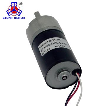 24 volt dc brushless motor micro geared motor 37mm