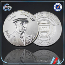 3D nickel plated antique commemorative best gift coin