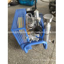 Compresor de alta presión del salto de la escafandra autónoma Compresor de la respiración del compresor (GX100 / p)