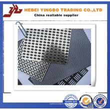 Feuille perforée en acier inoxydable en acier inoxydable de 2 mm