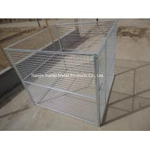 Собака забор, собака Run Box Питомник Chain-Link Собака Приложение Pet Safe 10X10X6