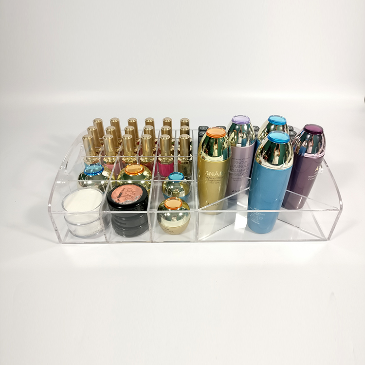 Acrylic Cosmetic Display Trays
