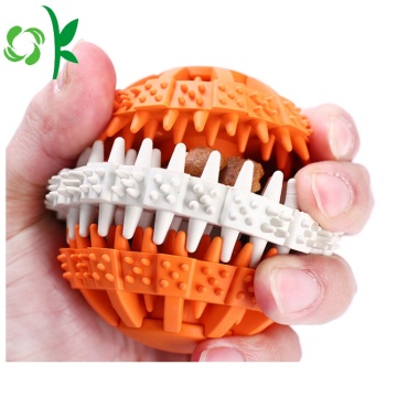 Best Quality Dog Silikon Gigi Bite Toy Ball