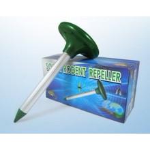 Repelente ultrasónico solar al aire libre de alta calidad para el topo y los roedores