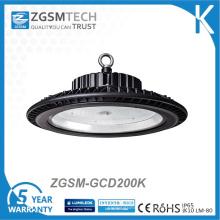 Luz alta de la bahía del UFO LED 200W