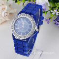 Geneva Quartz Ladies Beautiful Silicone Watches