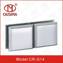 Zinc Alloy Arc-Shaped 90 Degree Glass Fitting Used in Fixing Glass (CR-G14)