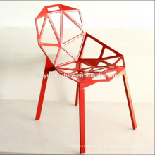 Cadeira de plástico de lazer cadeira moderna em saled XYN2786