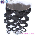 Virgin Brazilian Hair Straight Style 13*6 frontal lace closure with bundles