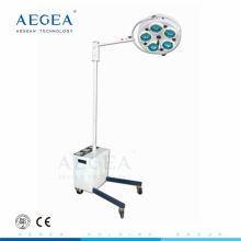 AG-LT010 Suministros médicos al por mayor batería de pie los precios de las luces de la sala de operaciones