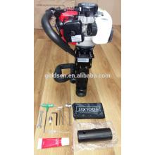 70mm 900w 32.7cc Portable Gasoline Piling Machine Mini Petrol Hammer Pile Driver GW8195